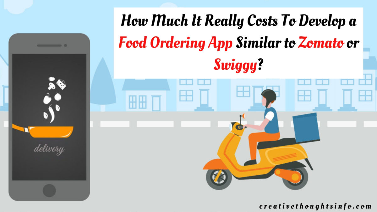 How Much It Really Costs To Develop a Food Ordering App Similar to Zomato or Swiggy?